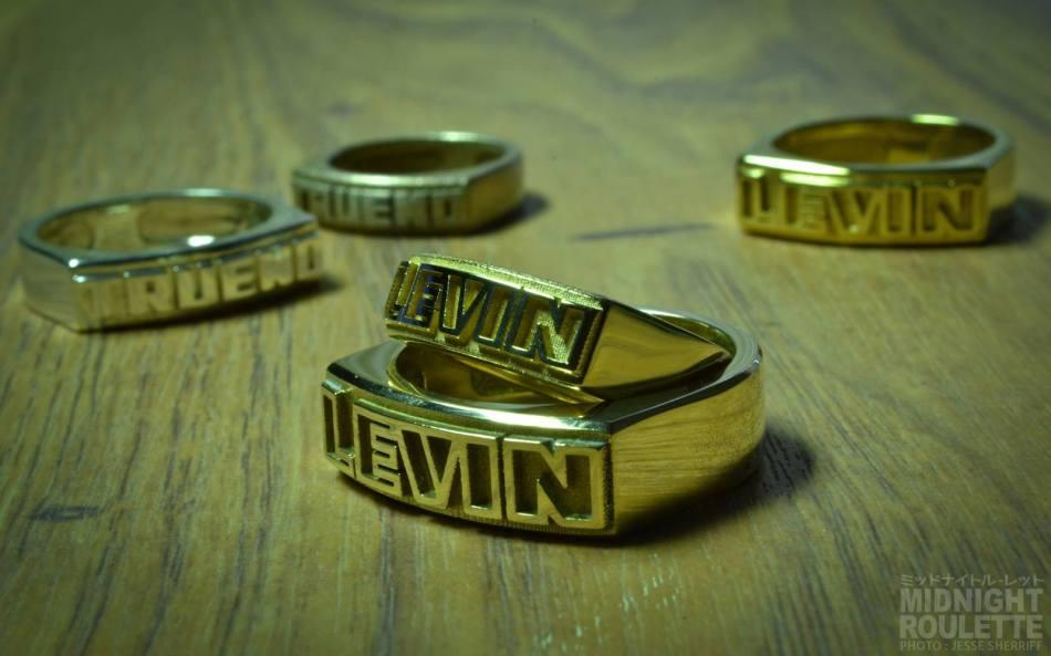 Midnight Roulette Gear Co. Levin & Trueno rings